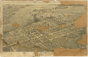 Old map-Gatesville-1884