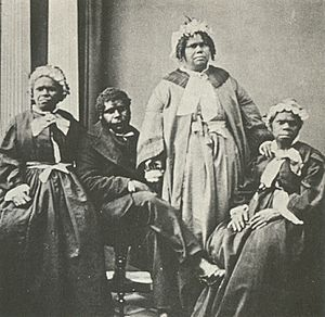 Truganini and last 4 tasmanian aborigines