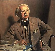 William Orpen Portrait of David LLoyd George
