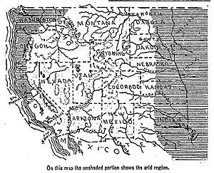 1893 Arid regions of the western united states