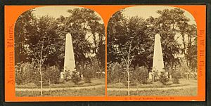 A cadet looking at the Herndon Monument, by Chase, W. M. (William M.), 1818 - 9-1905