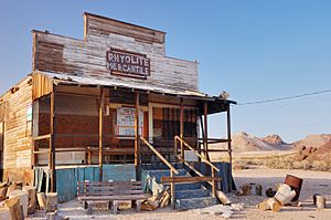 Abandoned Rhyolite General Store