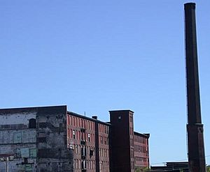 Abandoned mill in Lowell