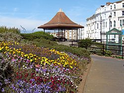 Bandstand on the Esplanade, Burnham-on-Sea - geograph.org.uk - 1510013