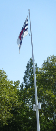 Flag of Cincinnati at Sawyer Point