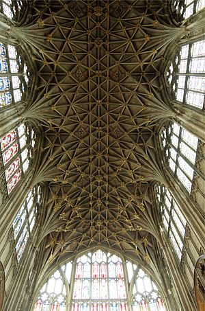 Gloucester Cathedral Vaulted Ceiling