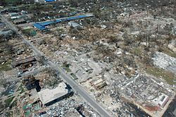 Effects Of Hurricane Katrina In Mississippi Facts For Kids