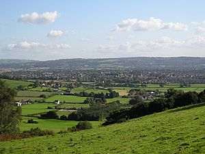 Nailsea from cadbury camp