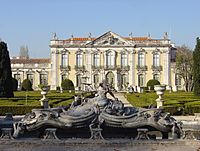 Queluz Palace fountains
