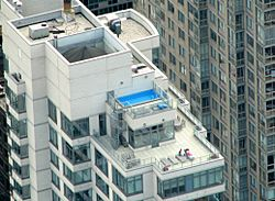 Rooftop pool NYC