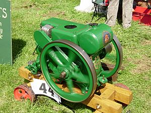 Ruston Hornsby 3hp type PB engine of 1935