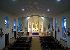 Saint Joseph Church (Egypt, Ohio) - nave