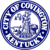Official seal of Covington, Kentucky