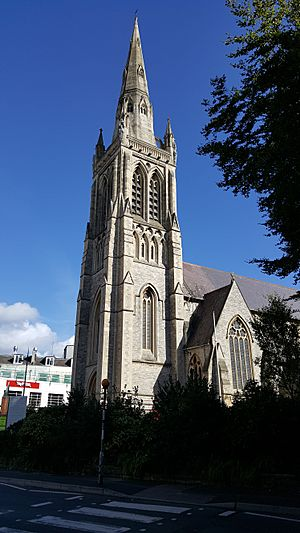 St. Peter's Bournemouth from Hinton Road.jpg