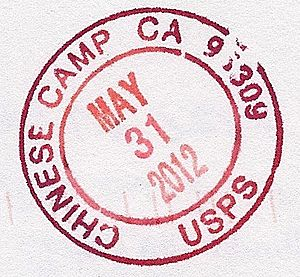 Chinese Camp CA Postmark