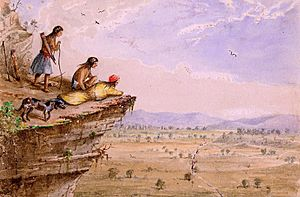 Comanche Lookout Arthur T. Lee