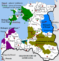Livonia in 1534 (English)