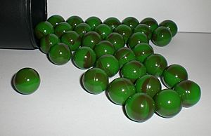 Paintballs green