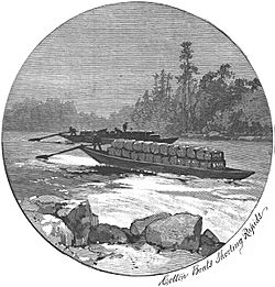 PetersburgGeorgiaPoleBoat1887