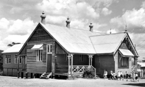 Queensland State Archives 2892 Old State School Coorparoo Brisbane February 1941