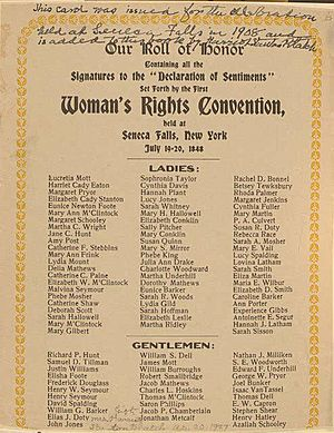 Woman's Rights Convention