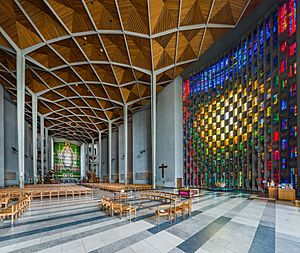 Coventry Cathedral Interior, West Midlands, UK - Diliff