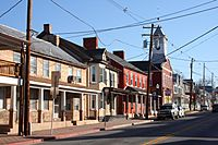Downtown Boonsboro, Maryland