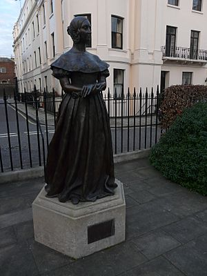 Queen Victoria by Catherine Laugel, Victoria Square Gardens