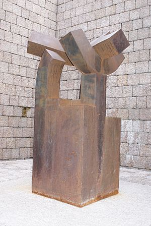 Sculpture by Chillida