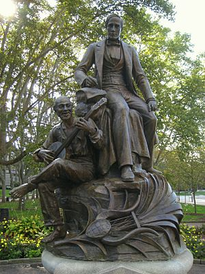 Stephen Foster Monument - Pittsburgh - IMG 0791