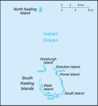 Cocos (Keeling) Islands-CIA WFB Map