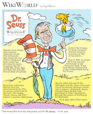 Dr. Seuss WikiWorld
