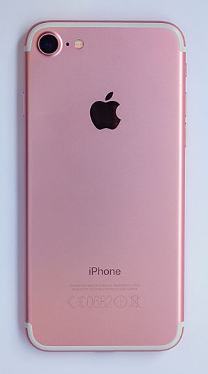 IPhone 7 - A1778 Rose Gold - Back