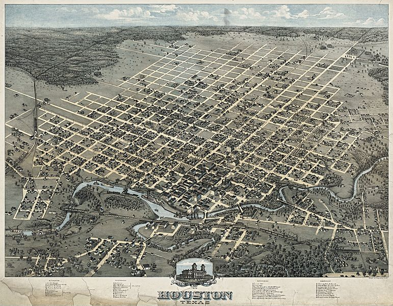 Old map-Houston-1873