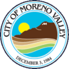 Official seal of Moreno Valley, California
