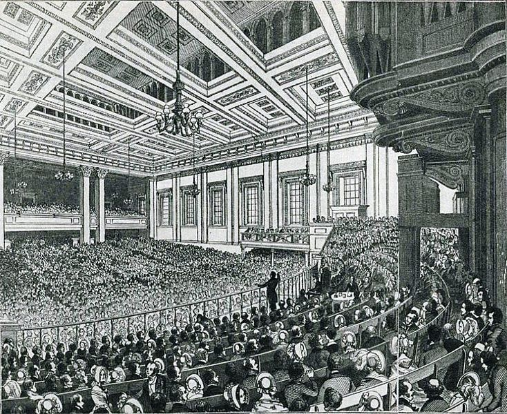1846 - Anti-Corn Law League Meeting
