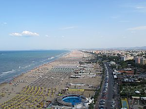 Beach of Rimini (14-07-2012)