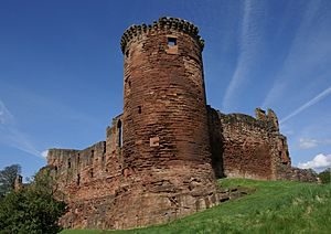 Bothwell Castle 20080505 - south-east tower.jpg