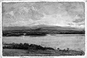 Brooklyn Museum - Green Mountains, Lake Champlain - Winckworth Allan Gay - overall
