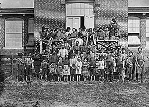 Child workers in Tifton, GA