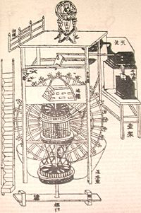 Clock Tower from Su Song's Book desmear