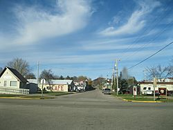 Commercial district in Ontario