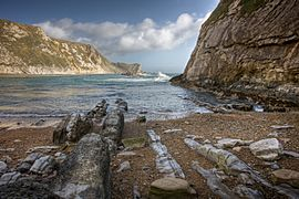 Dorset Coast Man-O-War Bay