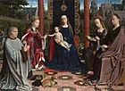 Gerard David - The Virgin and Child with Saints and Donor - Google Art Project