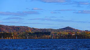 Onalaska, from Lake Onalaska 10-20-16