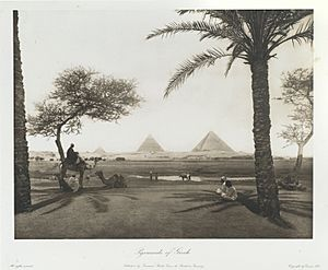 """Pyramids of Ghizeh."" 1893"