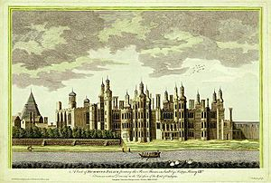 A View of Richmond Palace published in 1765