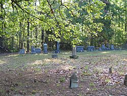 Bankston Cemetery in 2007