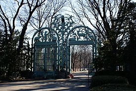 Entrance to Bronx Zoo 2008