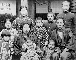 Asian Family in Brazil